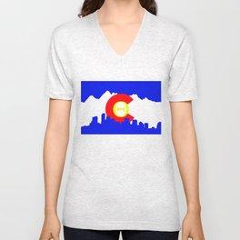 Colorado Theta Unisex V-Neck