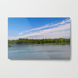 Rivers of Patagonia Metal Print