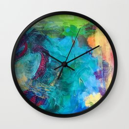 Life is a beautiful mess Wall Clock