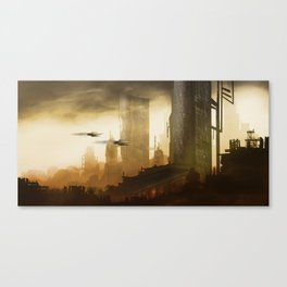 Sightseeing - Chris Little Canvas Print