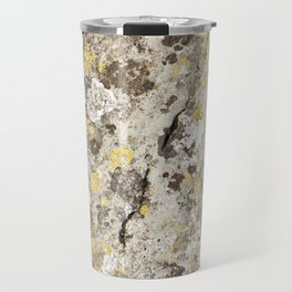 Lichen on The Rollright Stones Travel Mug