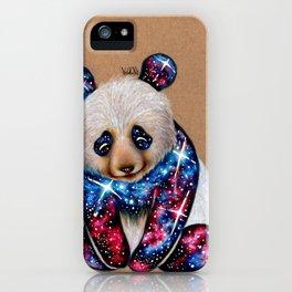 Cosmic Panda iPhone Case