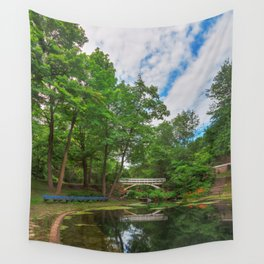 Jean-Drapeau Arch Pond Wall Tapestry