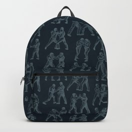 Round One STEEL BLUE / Vintage boxers Backpack