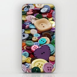 Buttoned up iPhone Skin
