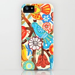Pop Flowers iPhone Case