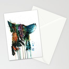 Husky - Anticipation Stationery Cards