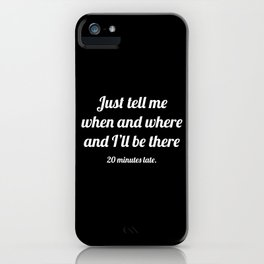 The Guilty Person III iPhone Case