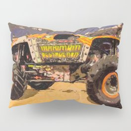 Monster Jam Party in the Pits Pillow Sham