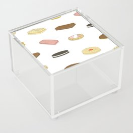 biscui - biscuit pattern Acrylic Box