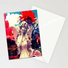 Angel's flowers Stationery Cards
