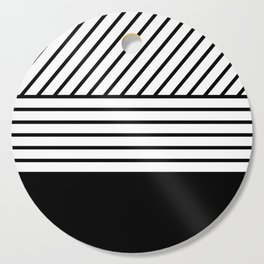 Lines Cutting Board