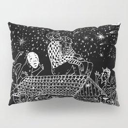 Not now, Creepy Creatures! Pillow Sham