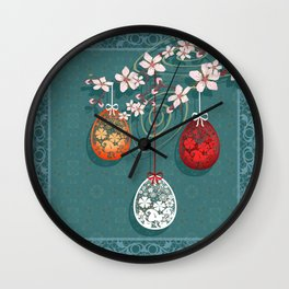 Easter . Wall Clock