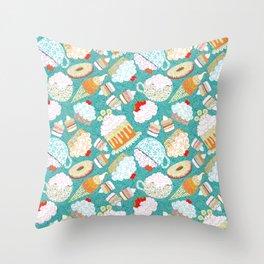 sweetly Throw Pillow