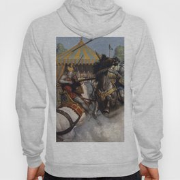 Knights jousting Hoody