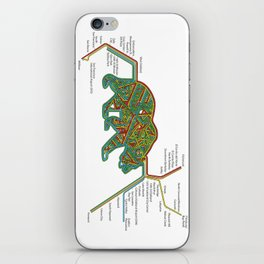 The Bear Area iPhone Skin