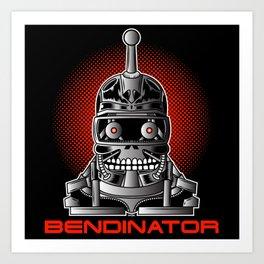 BENDINATOR Art Print