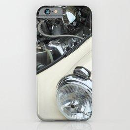 vintage white car - details iPhone Case