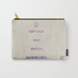 KEEP CALM and watch Gilmore Girls Carry-All Pouch