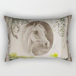 HORSE & BIOPHILIA Rectangular Pillow