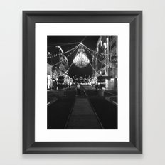 This Is A Classy Town Framed Art Print