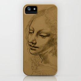 Da Vinci Inspired Drawing iPhone Case