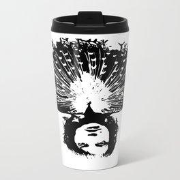 Lady Peacock Metal Travel Mug