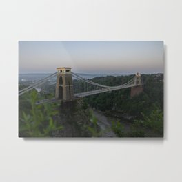 Clifton Suspension Bridge Metal Print