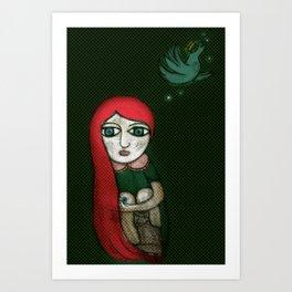 Letting Go. Holding On. Art Print