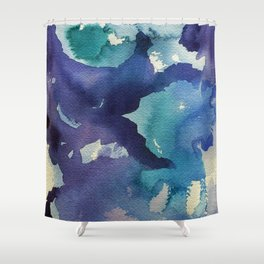 I dream in watercolor B Shower Curtain