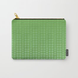 Light green ombre pattern. Carry-All Pouch