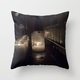 Light a candle, Say a prayer. Throw Pillow