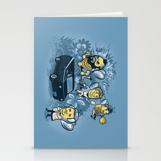 Bee Team 2 Stationery Cards