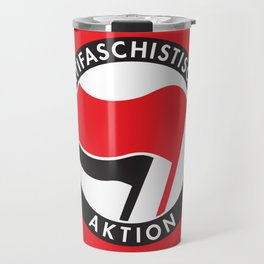 Antifaschistische Aktion Travel Mug