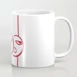 Mocking Face Butt Coffee Mug