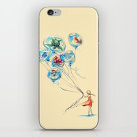 lost iPhone & iPod Skins featuring Water Balloons by Alice X. Zhang