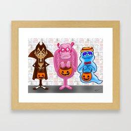 Monster Cereals Framed Art Print