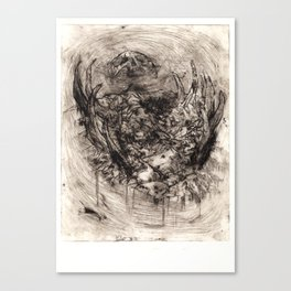 Ymir Butchered Canvas Print