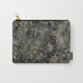 Grunge Organic Texture Print Carry-All Pouch