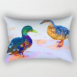 Ducktalk Rectangular Pillow