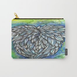 Blue Angel Wings Carry-All Pouch