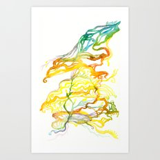 Iceland Abstracted #6 Art Print