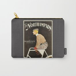 The Northampton Bicycle co. by Edward Penfield Carry-All Pouch