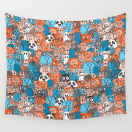 plushies retro Wall Tapestry