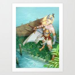 Saihlana Art Print