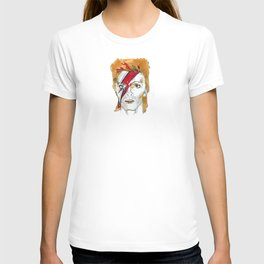 Bowie birthday card T-shirt