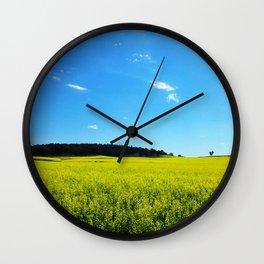 Canola Wall Clock