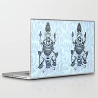 ganesha Laptop & iPad Skins featuring Ganesha  by Sketchii Studio