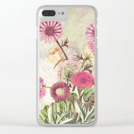 Life is a marvellous garden Clear iPhone Case